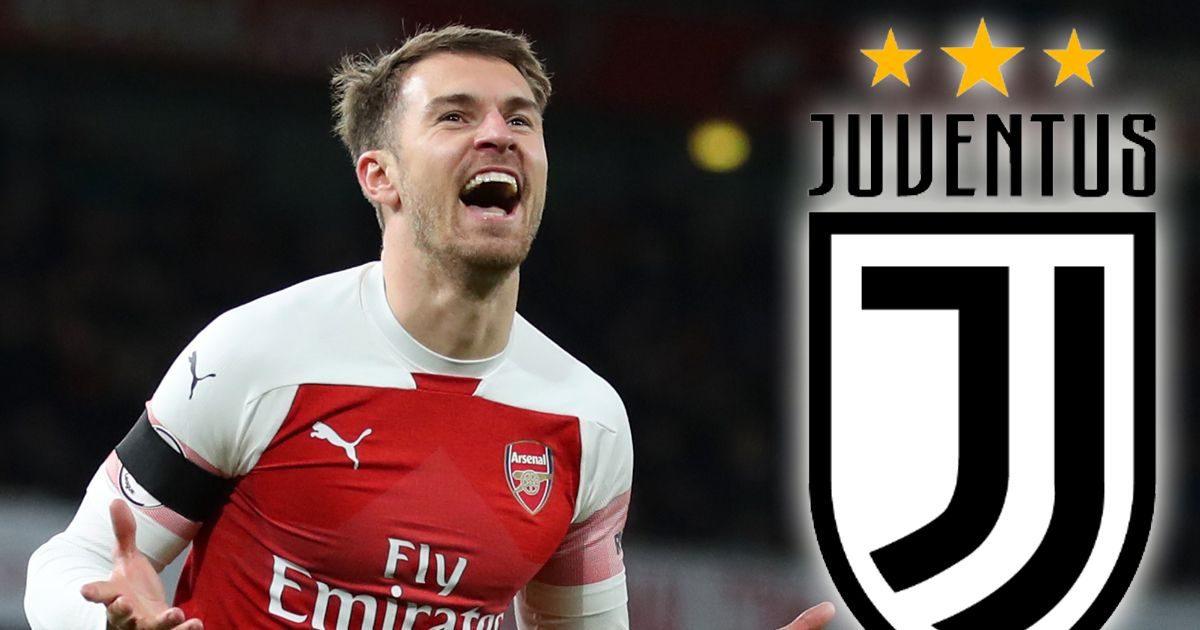Sang pemain Aaron Ramsey Resmi Akan Gabung Club Skuat Juventus Dengan Gaji Yang Fantastis
